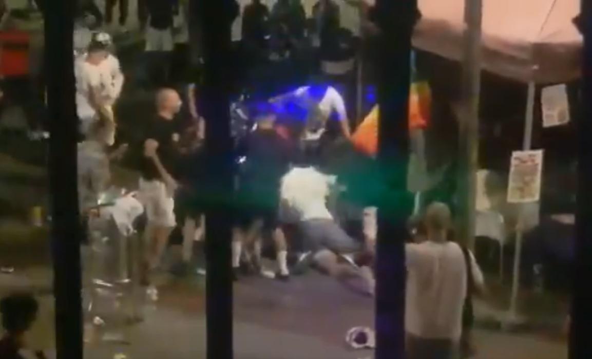agressio festa major terrassa 2021 plaça didó